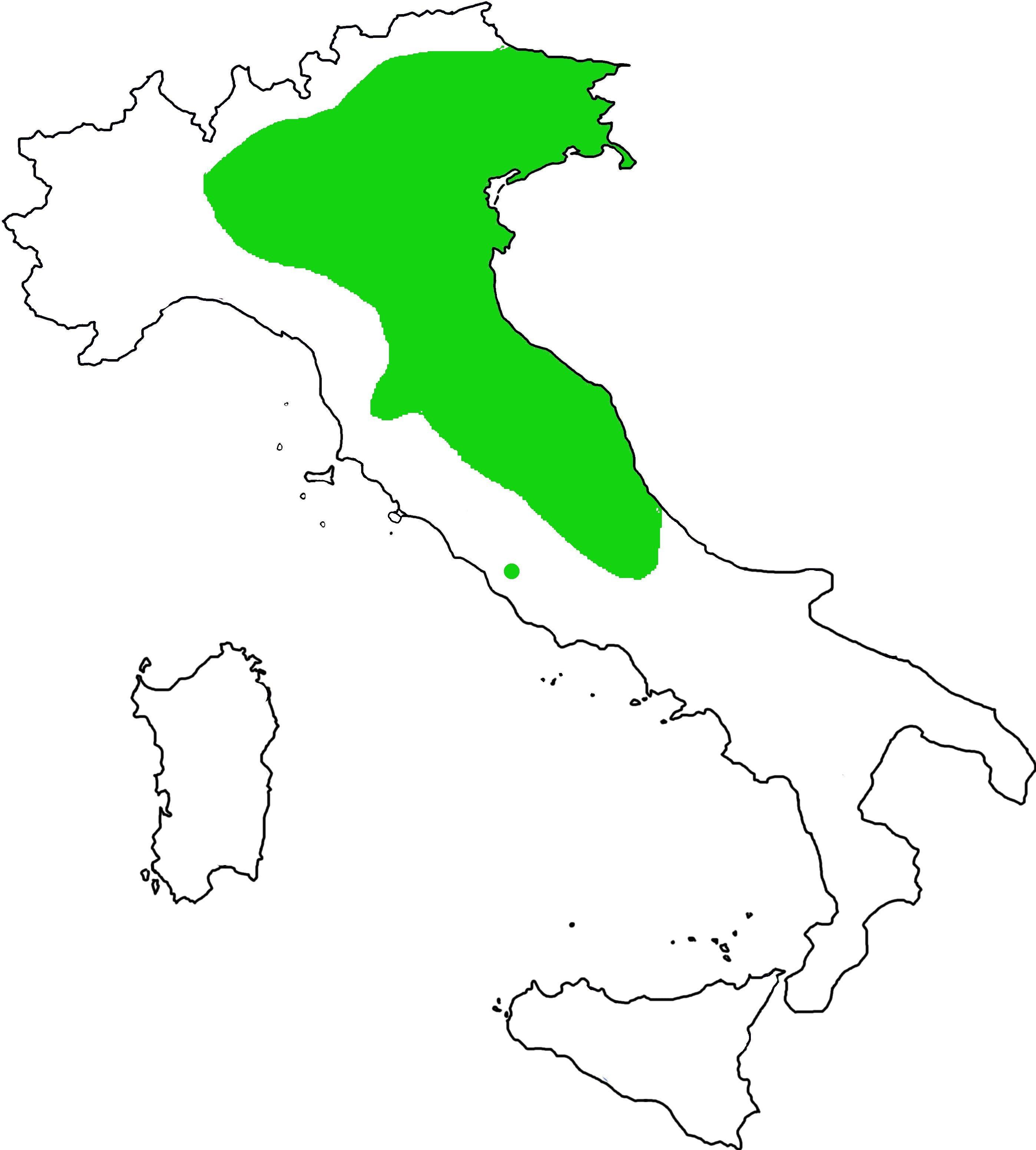 disdtribuzione Euscorpius aquilejensis