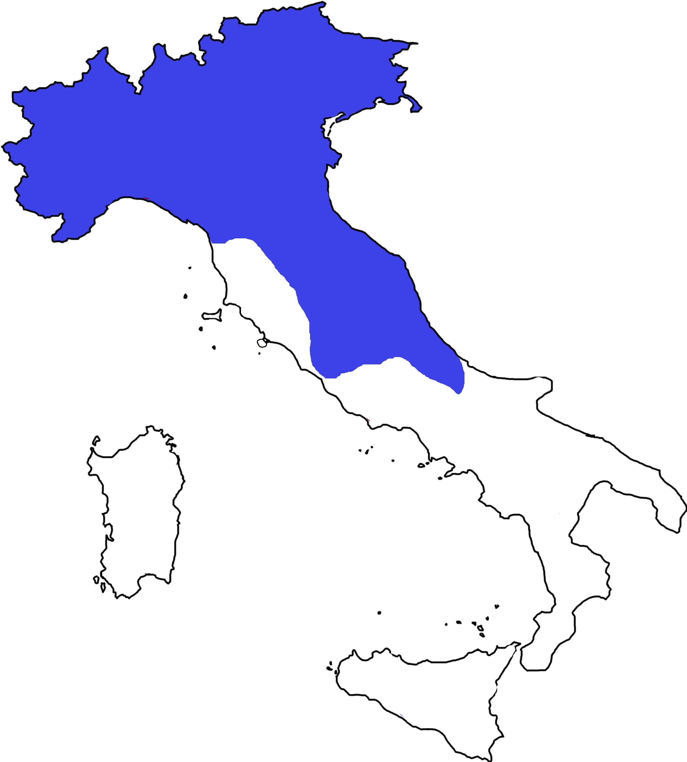 distribuzione in Italia di Euscorpius italicus